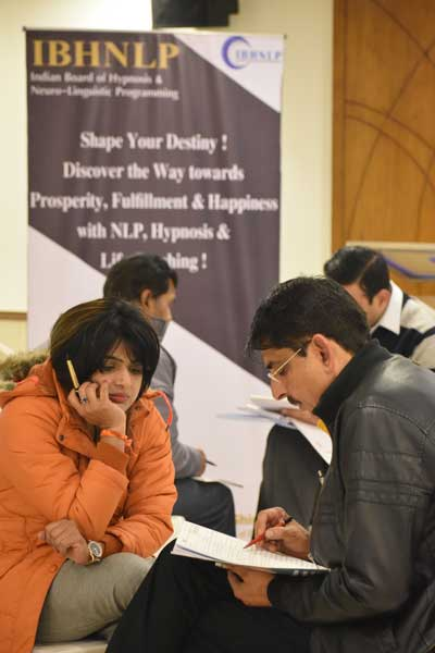 Glimpses of NLP Practitioner Training Workshop in Delhi